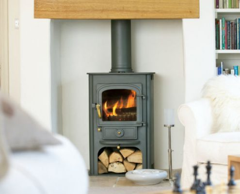 Clearview Solution 400 Multi-Fuel Stove