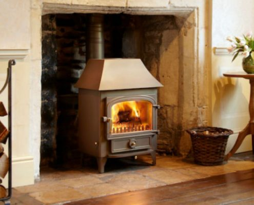 Clearview Vision 500 Multi-Fuel Stove