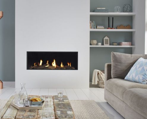 Dru Global 100 Landscape Gas Fire