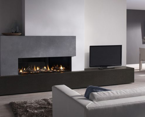 Dru Metro 139XT Eco Wave Gas Fire