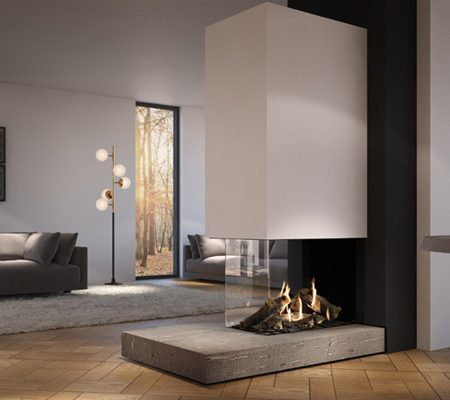 Dru Maestro 75XTU Eco Wave Gas Fire