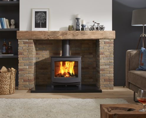 Dik Geurts Ivar 8 Low Woodburning Stove