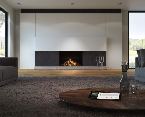 DRU Maestro 100 Eco Wave Gas Fire