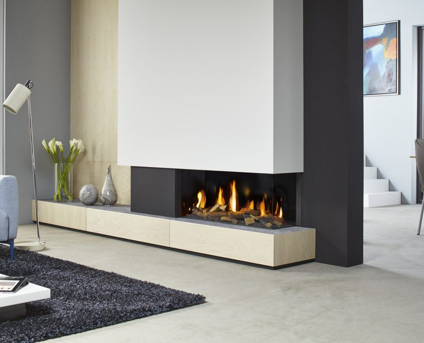 Dru Metro 100XT/2 Eco Wave Gas Fire