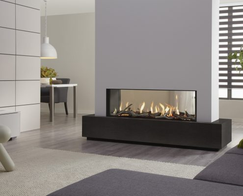Dru Metro 130XT Tunnel Eco Wave Gas Fire