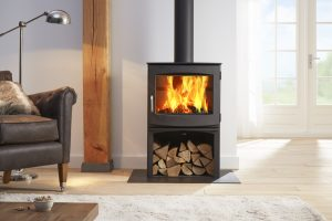 Dik Geurts Ivar 8 Woodburning Stove with Store