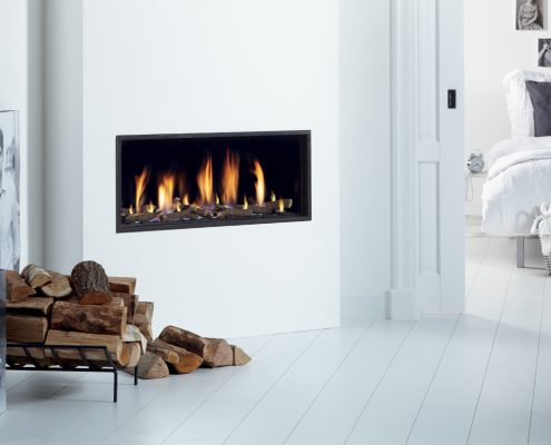 Dru Global 100 Balanced Flue Hole in the Wall Gas Fire
