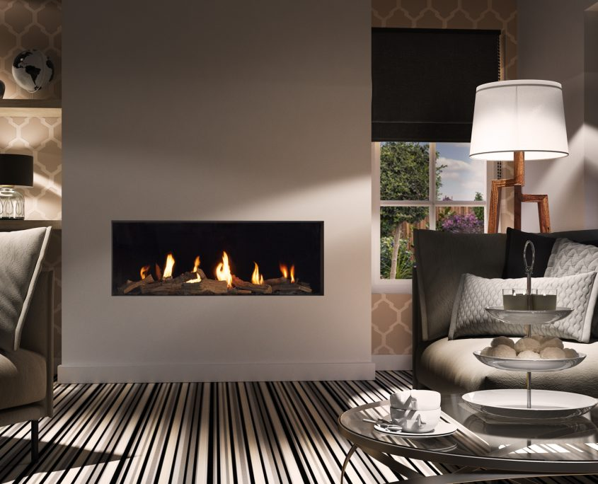 Dru Global 120 Balanced Flue Gas Fire