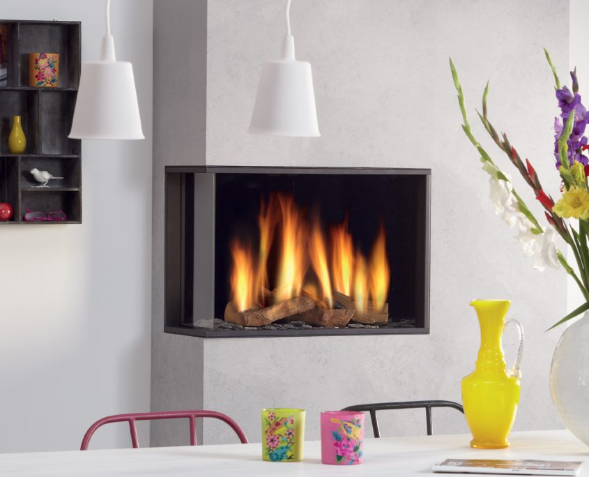 Dru Global 60 Corner Gas Fire