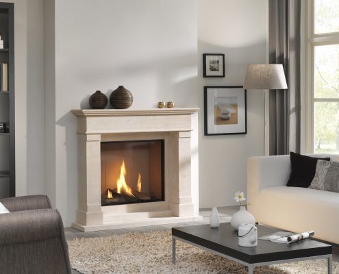 Dru Global 70 XT Balanced Flue Gas Fire