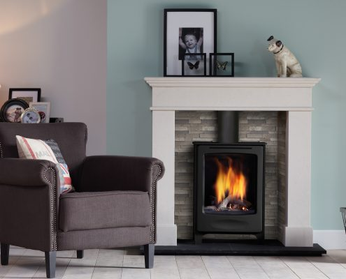 Dru Global Beau Conventional Flue Freestanding Gas Stove