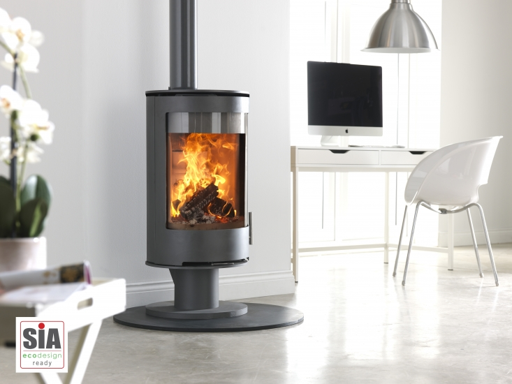 Purevision PVR Stove with Small Pedestal Ecodesign Ready
