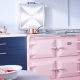 Everhot 110i Range Cooker in Dusky Pink
