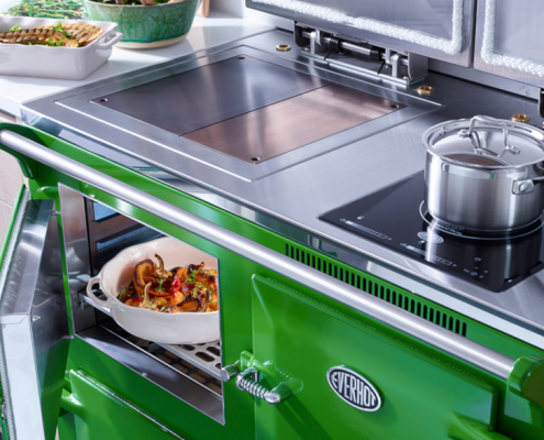 Everhot 110i Range Cooker in Fern